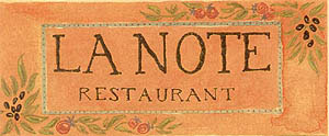 La Note Restaurant Provencal Picture