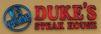Duke's Steakhouse - Casino Fandango Picture
