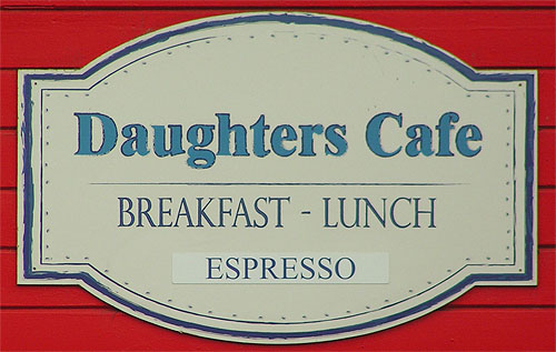 Daughter's Cafe Picture