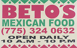 Beto's Mexican Restaurant Picture