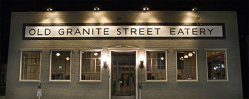 Old Granite Street Eatery Picture