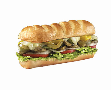 Firehouse Subs - Veggie Sub