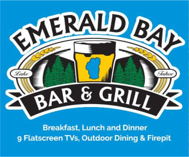 Emerald Bay Bar and Grill, South Lake Tahoe CA, TheMenuPage.com